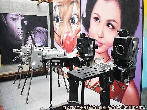 影像博物館18-戶外用電影放映機.JPG