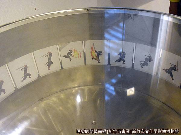 影像博物館21-動畫影片是利用視覺暫留的原理.JPG