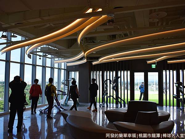 台灣棒球名人堂10-7樓-名人堂迎賓區.JPG