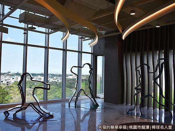 台灣棒球名人堂11-7樓-名人堂迎賓區特寫.JPG
