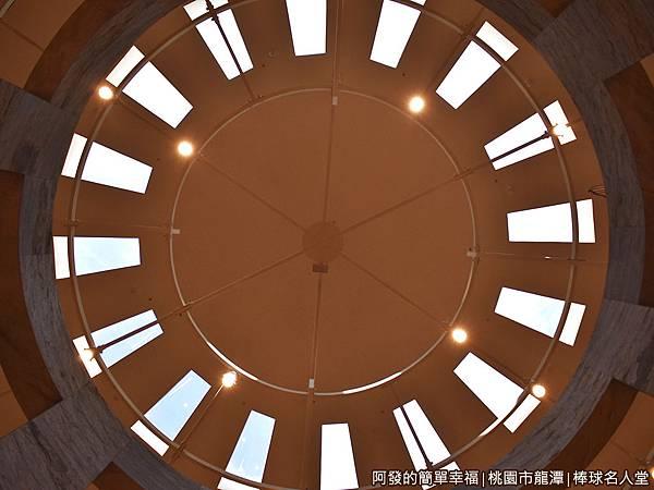 台灣棒球名人堂15-7樓-屋頂天花板.JPG