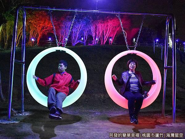 海灣星空39-浪漫的發光月牙鞦韆.JPG