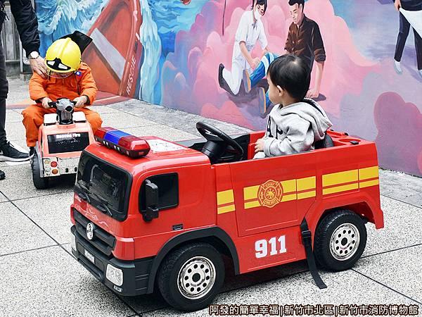 消防博物館19-童車-消防車.JPG