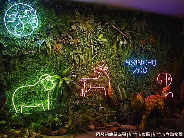 新竹市立動物園44-很美的動物園燈牆.JPG