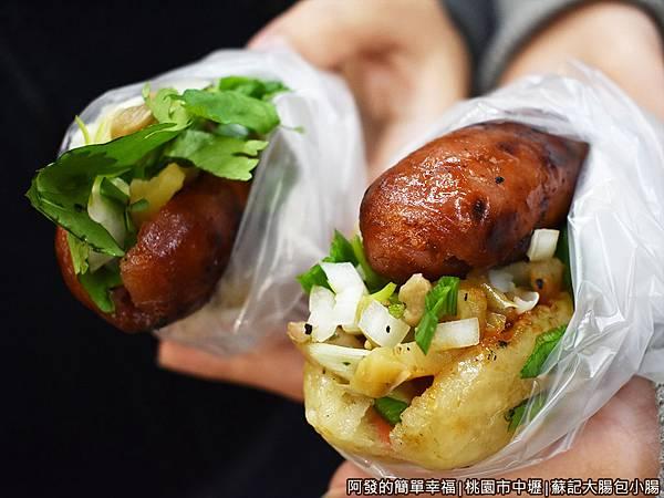 蘇記大腸包小腸11-大腸包小腸與香腸加菜.JPG