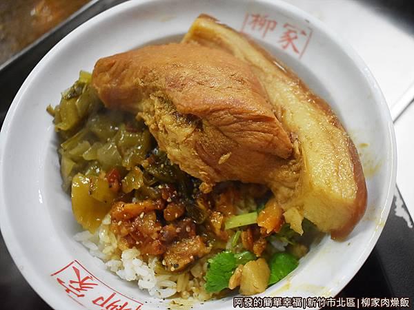 柳家肉燥飯19-焢肉飯.JPG