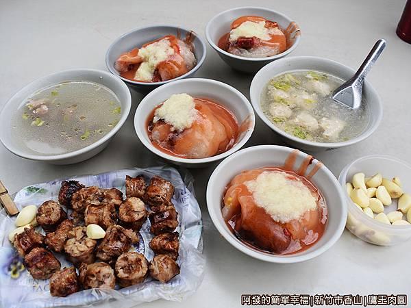 鷹王肉圓08-我們的餐點.JPG
