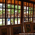 桃園77藝文町16-六藝展覽坊-木窗外.JPG