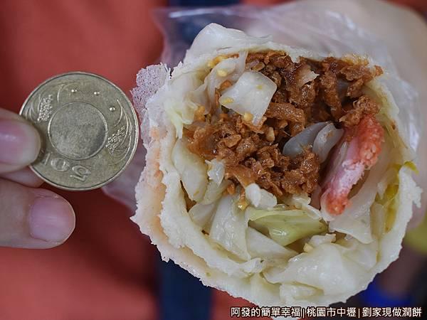 劉家現做潤餅16-不到50元的大份量潤餅.JPG