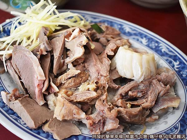 瞎仔巷50年老麵店10-豬心+豬頭肉.JPG