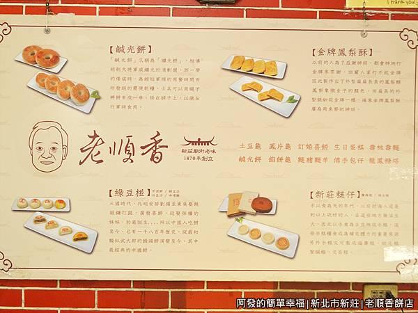 老順香餅店09-店內傳統糕餅介紹.JPG