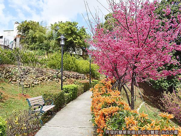 永吉公園20-通往公園後方的小徑.JPG