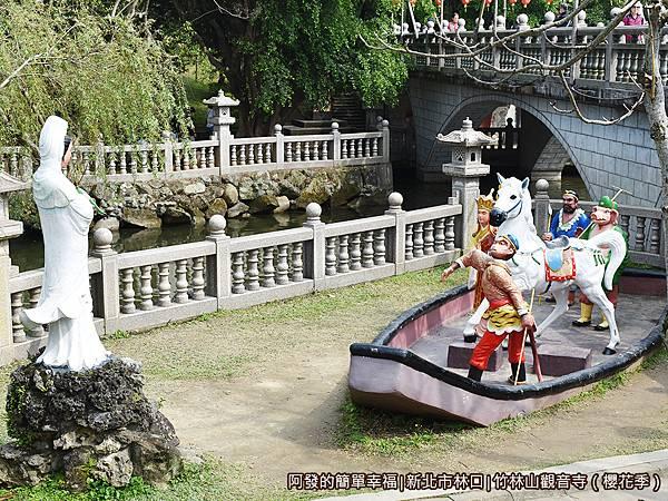 竹林山觀音寺13-西遊記主角造景.JPG
