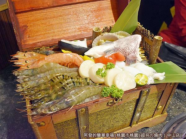超夯の燒肉13-海鮮寶箱特寫.JPG