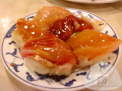 沒有店名的日本料理-昆明街-生魚飯90元.jpg