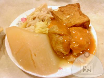 沒有店名的日本料理-昆明街-關東煮70元(小).jpg