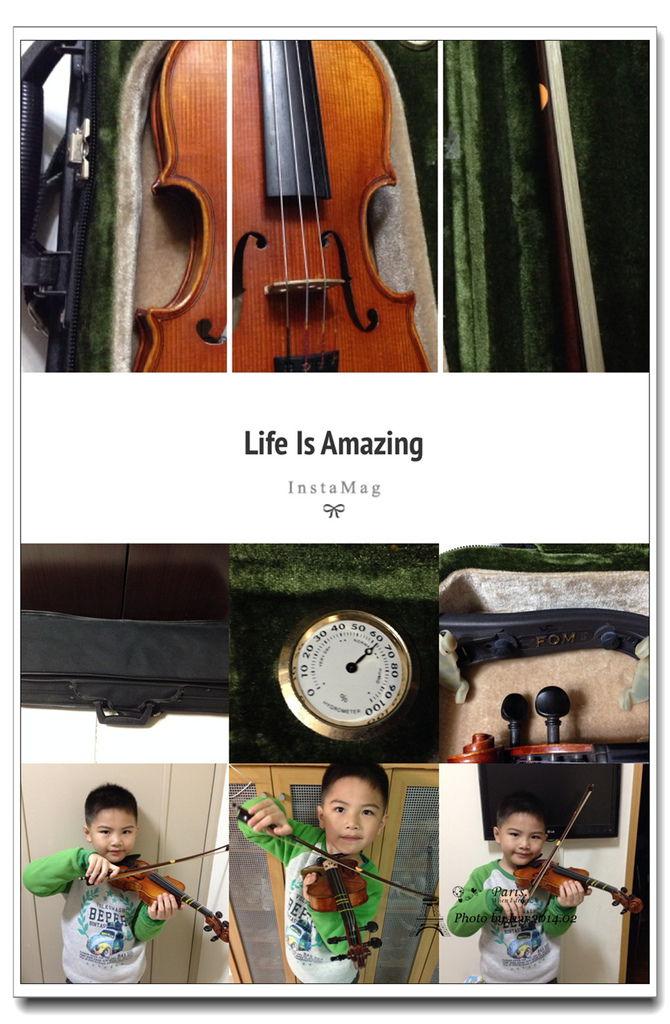 1030311~成成Duck班練習小提琴(6Y5M)