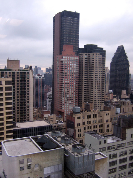 大樓的view