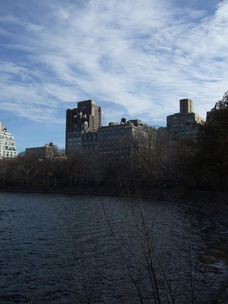 中央公園向東