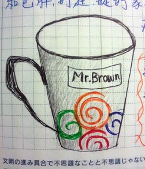 塗鴉 Mr.Brown