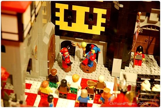 用積木築城。中世紀樂高城04