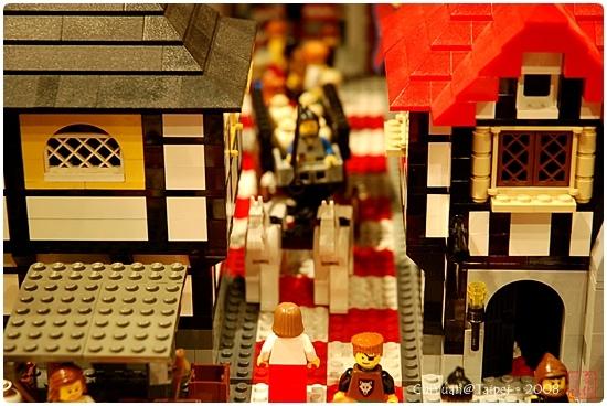 用積木築城。中世紀樂高城05