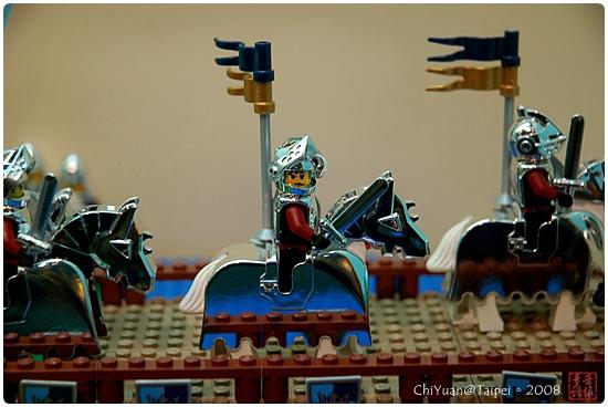 用積木築城。中世紀樂高城09