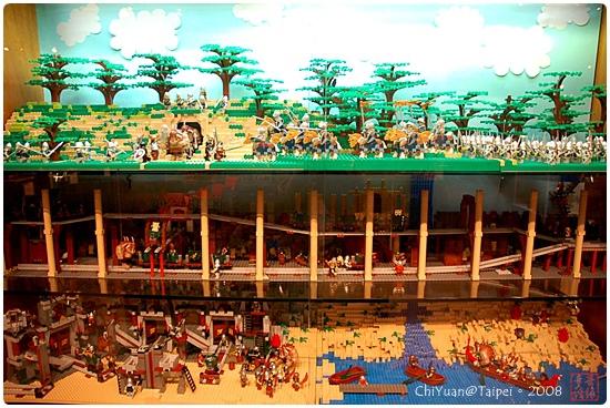 用積木築城。中世紀樂高城10