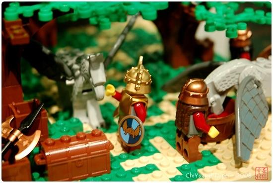 用積木築城。中世紀樂高城17