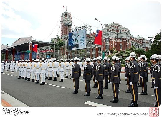 2008國慶預演(三軍儀隊)