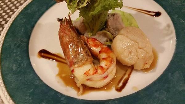 哥法諾鮮蝦干貝