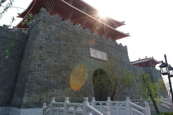 中國古城造型