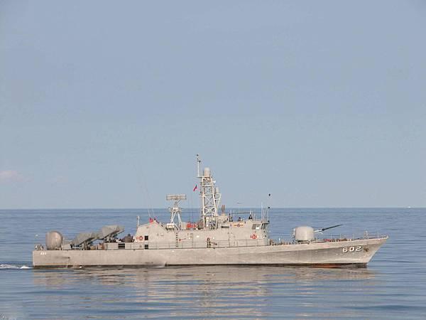 ROC_台湾海军的龙江级导弹巡逻艇之2_602绥江号