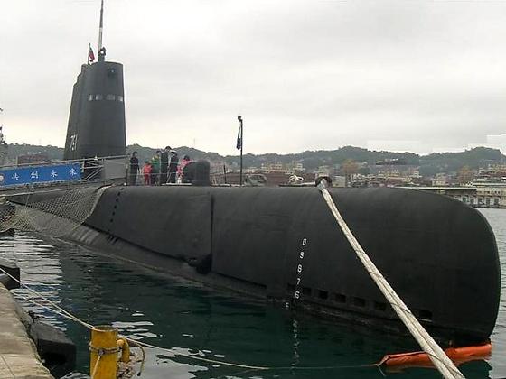 台军791号潜艇