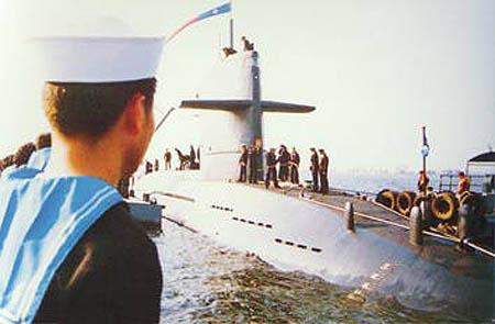 """台湾海军海龙级793""""海龙""""号潜艇"""
