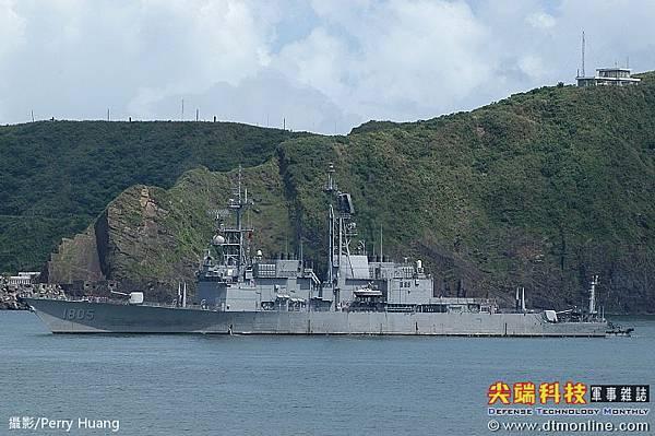 基隆級飛彈驅逐艦_美國紀德級飛彈驅逐艦_馬公號DDG-1805_3