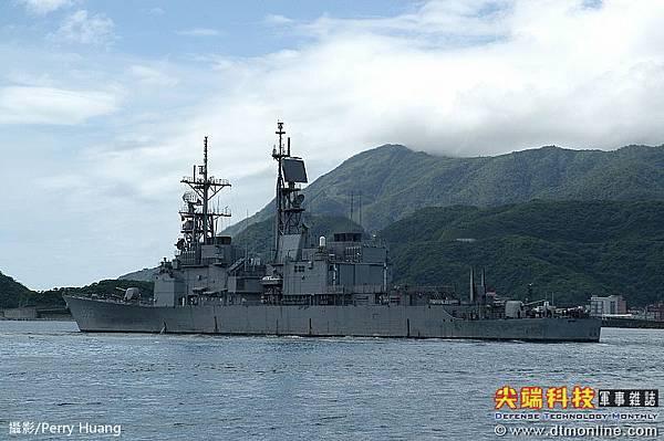 基隆級飛彈驅逐艦_艦上配備62枚標準2型飛彈_左營號DDG-1803_2
