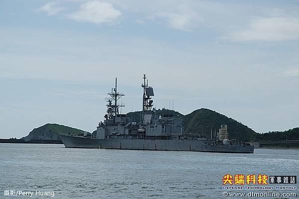 基隆級飛彈驅逐艦_艦上配備62枚標準2型飛彈_左營號DDG-1803_3