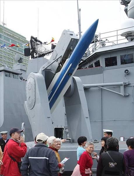 標準一型飛彈&MK13型單臂飛彈發射架