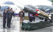 台灣自主研發的雄風三型飛彈,2012年12月在中科院展出
