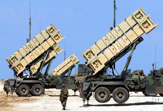 台灣飛彈部隊裝備的愛國者-2型地對空飛彈防禦系統