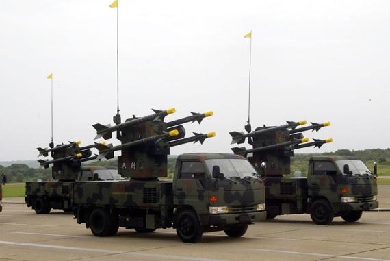 台灣地對空導彈部隊裝備的天劍-1型防空導彈