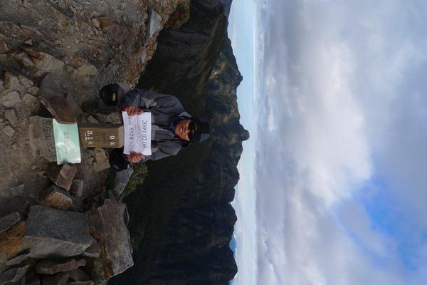 第八座百岳~品田山攻頂!這兒沒三角點唷