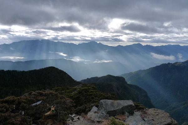 好美的中央山脈北一北二段