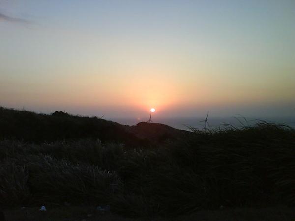 最後衝到好望角看夕陽
