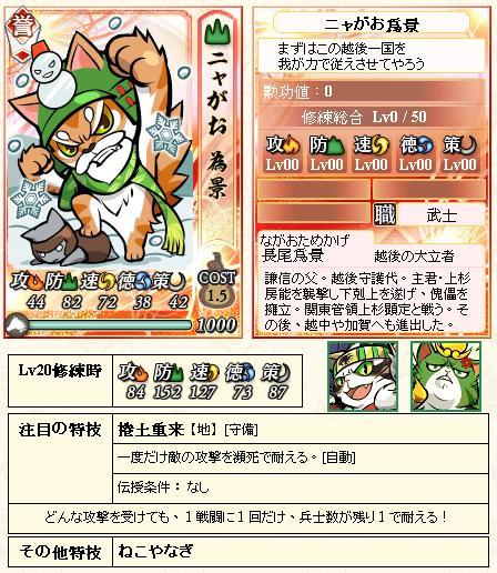0 - 信喵之野望 - 貓戰記 - 毘沙門天の旗 - 01