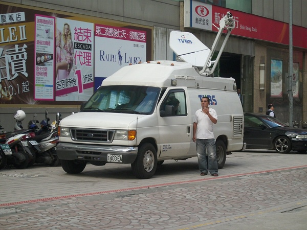 TVBS轉播車
