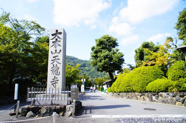 【京都】彼岸花畔一片天:大本山天龍寺(2)
