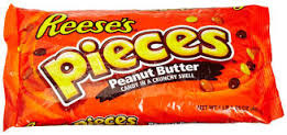 「Reese's Pieces花生醬巧克力豆」的圖片搜尋結果