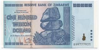 「100兆辛巴威幣」的圖片搜尋結果